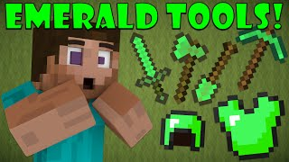 Why Emerald Tools Don't Exist - Minecraft thumbnail