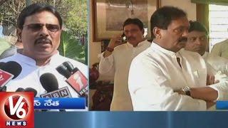 CM KCR & Politicians Pay Tributes To Former Minister Punjala Shiv Shankar   V6 News