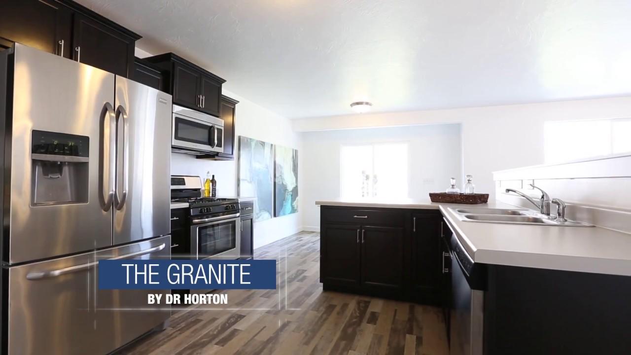 Legacy Farms at Saratoga Springs - The Granite plan - YouTube