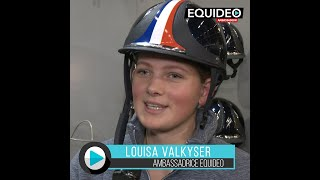 Louisa Valkyser reçoit son nouveau casque Antares !