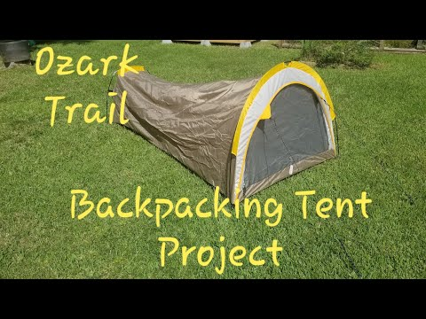 Ozark Trail Backpacking Tent Project