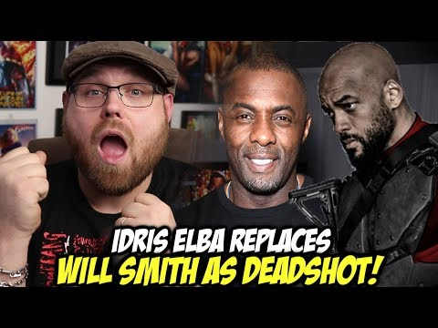 Idris Elba Replaces Will Smith as Deadshot in Suicide Squad 2!!!