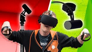 We Made an INVISIBLE VR Gaming Setup!