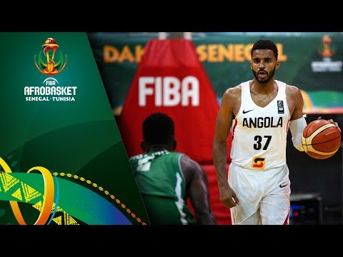 Angola v Central African Republic - Full Game - FIBA AfroBasket 2017