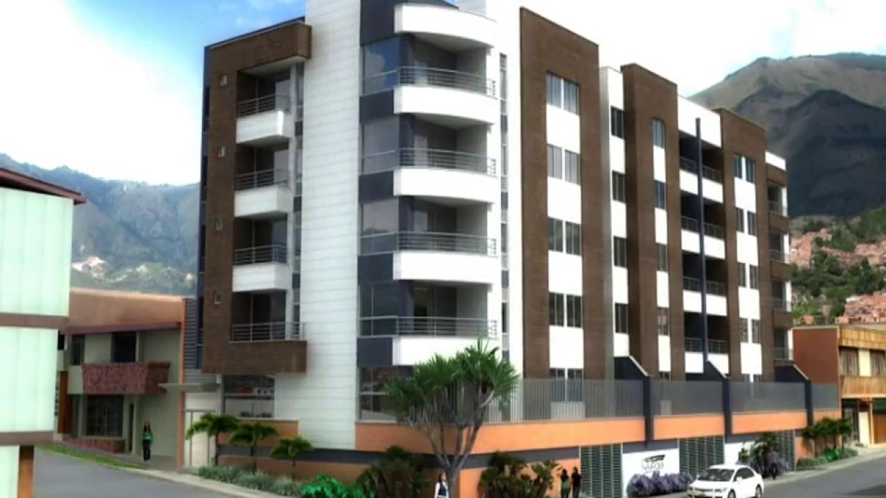 Nairobi apartamentos fachada youtube for Apartamentos modernos minimalistas