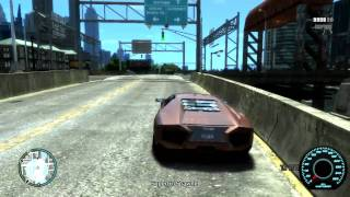 GTA 4 PC Gameplay GTX 460 ( Realizm IV + Ultimate Texture 2.0 ) HD