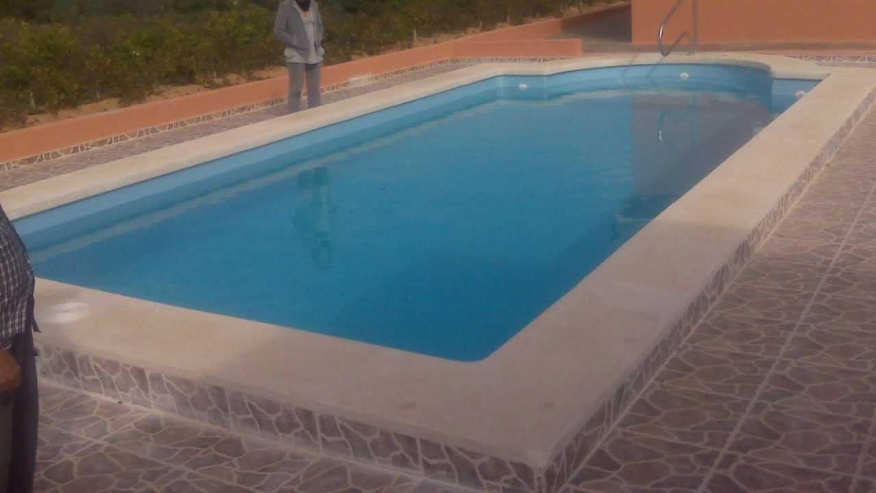 Barpool piscinas prefabricadas fibra piscina romana a 10 for Piscinas prefabricadas desmontables