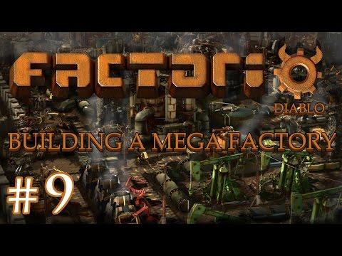Factorio - Building a Mega Factory: Part 9 Building the basics.