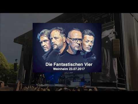 Die fantastischen Vier in Weinheim