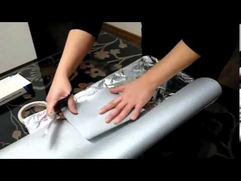 Как упаковать подарок без определенной формы