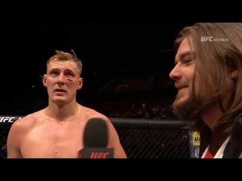 Fight Night Rotterdam: Alexander Volkov & Stefan Struve Octagon Interviews