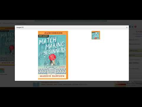 Matchmaking for Beginners: A Novel MP3 CD – Audiobook, MP3 Audio, Unabridged