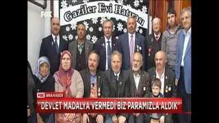 KORSAVAŞ TÜRKİYE GAZİLER DERNEĞİ FOX TV.ANA HABERDE..izmir temsilciliği,temsilcisi orkan özbek