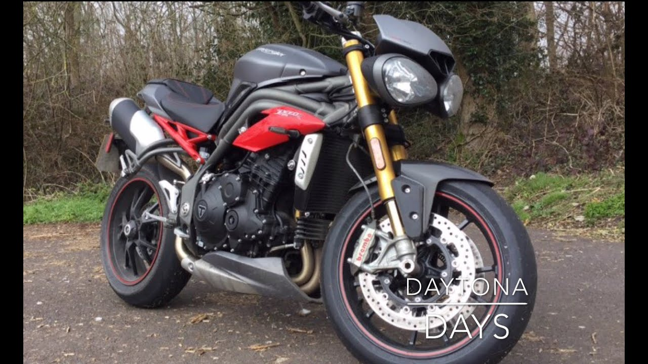 2016 triumph speed triple r review - youtube