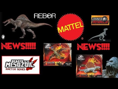 News!!! New Savage Strikes in stores! W Dragon Spinosaurus pictures! Price info on Brachiosaurus!