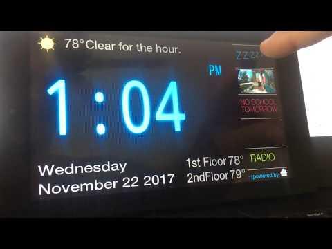 Home Assistant Alarm Clock