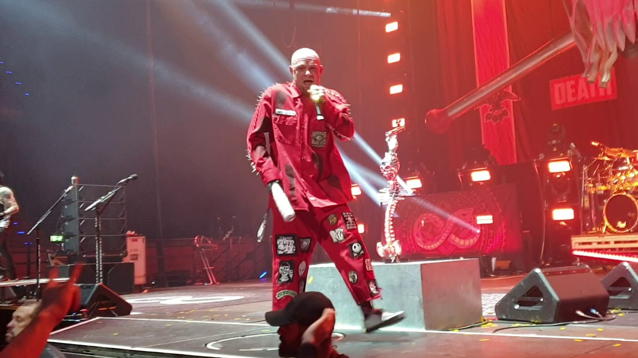 Five Finger Death Punch - 5FDP - Inside Out - live @Max-Schmeling-Halle Berlin 03.02.2020