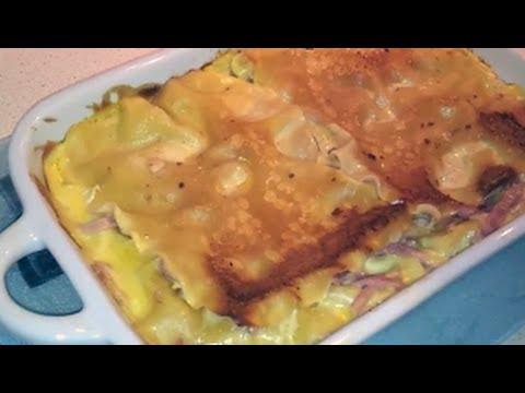 How To Make Chicken Cordon Bleu Lasagna