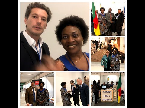Incroci@👌 Italy Africa business week. Full interviews French P.1