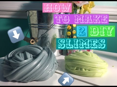 Thumbnail: How to make 2 different types of slimes!
