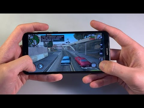 Игры Nokia 5.1 Plus (GTA:SanAndreas, PUBG:Mobile, NFS)