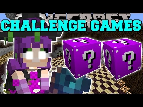 Minecraft: WITCH CHALLENGE GAMES - Lucky Block Mod - Modded Mini-Game