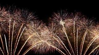Dubai New Year Fireworks Burj Al Arab.  2016 (full HD)