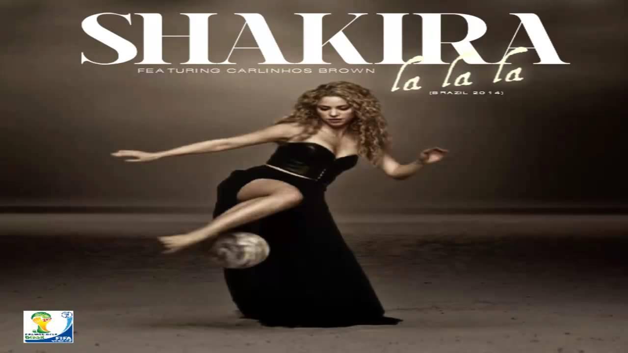 Shakira la la la brasil 2014 lyrics video fifa world cup song.