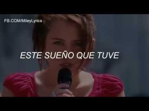 The Climb Miley Cyrus subtitulado al español