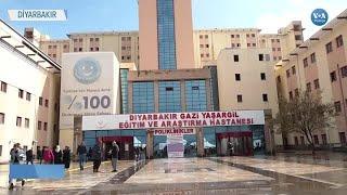 Diyarbakır'da Maske Sıkıntısına Hastane Çözüm Buldu
