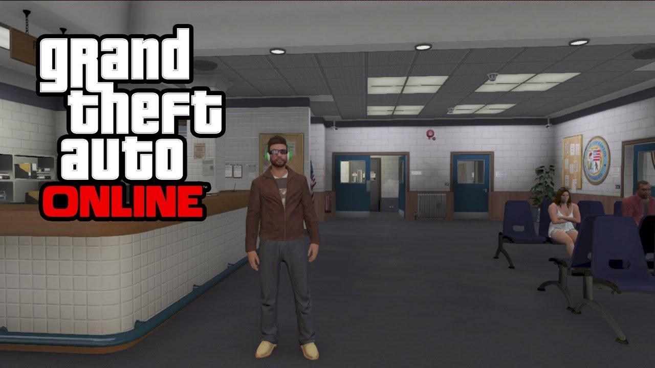 GTA 5 Online - Secret Police Station! GTA Online Glitch ...
