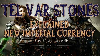 Elder Scrolls Online | Imperial City Tel Var Stone Currency Explained | How to Earn etc. | HD