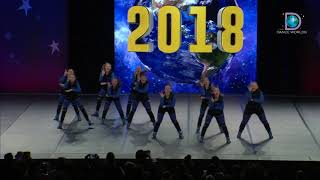 Express All Stars Cheer & Dance Academy - Spirit Express - Kryptic [2018 Sm. Senior Hip Hop Prelims]