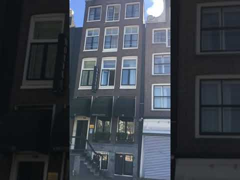Amsterdam City interesting buildings, beautiful canals and historical streets