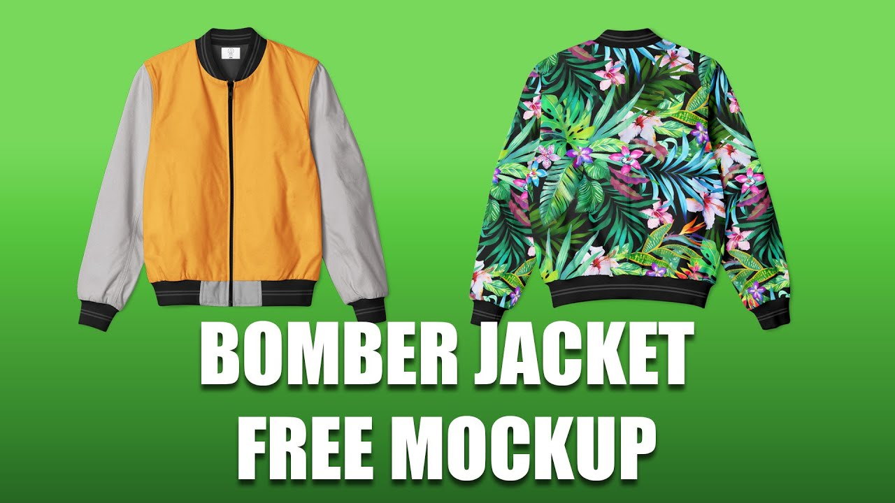 Introducing my new layout and a brand new template for you all. Bomber Jacket Mockup Free Download Youtube