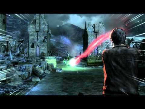 Harry Potter and The Deathly Hallows Part 2 Game Walkthrough Part 17 Harry VS Voldemort Final Battle