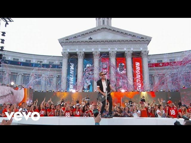 OneRepublic - Kids (LIVE From NFL Kickoff At The Colorado State Capitol)