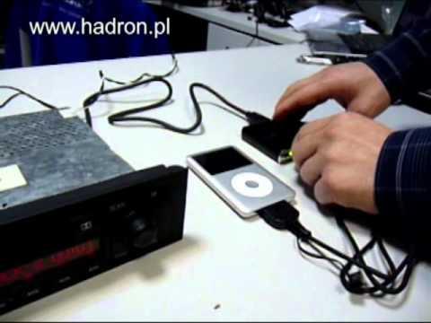 Adapter do podłączenia wzmacniacza do fabrycznego radia