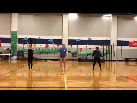2018 Taylor Pacesetter audition dance