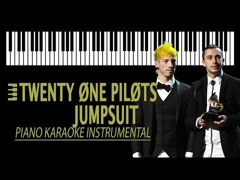 JUMPSUIT - Twenty One Pilots KARAOKE (Piano Instrumental)