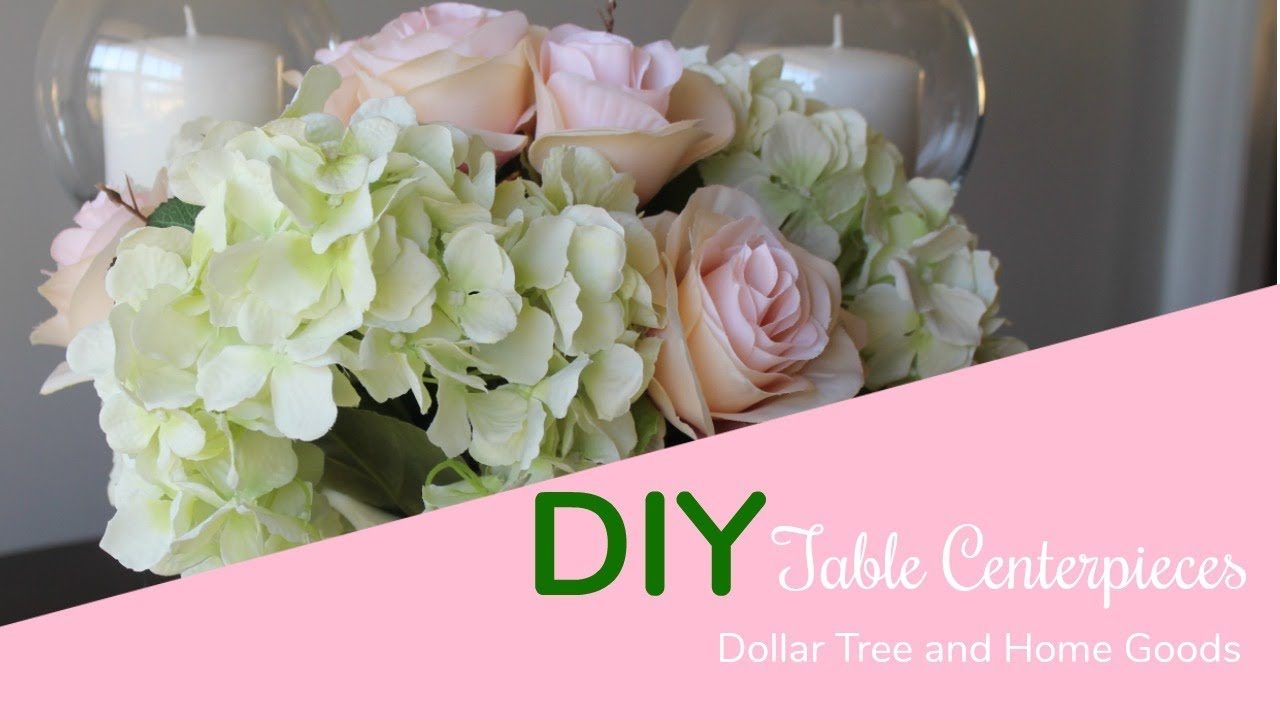 Diy Dollar Tree And Home Goods Kitchen Table Centerpieces