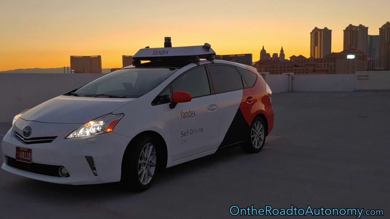 Self-driving Car from Yandex Goes for a Spin at CES 2019