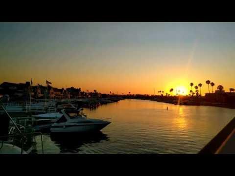 + { 4K } Beautiful Sunset - Long Beach , Mothers Beach