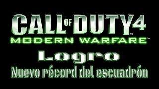 Call Of Duty 4: Modern Warfare - Logro Nuevo récord del escuadrón (New Squadron Record)