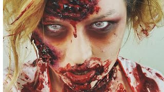 Zombie Halloween Tutorial Thumbnail