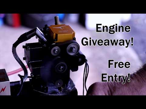 Model Engine Giveaway Free Entry 4 Stroke Gas Engine