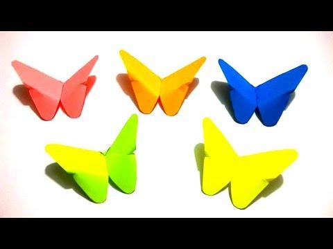 Origami Mariposa Mariposa De Papel Facil Y Rapido Diy