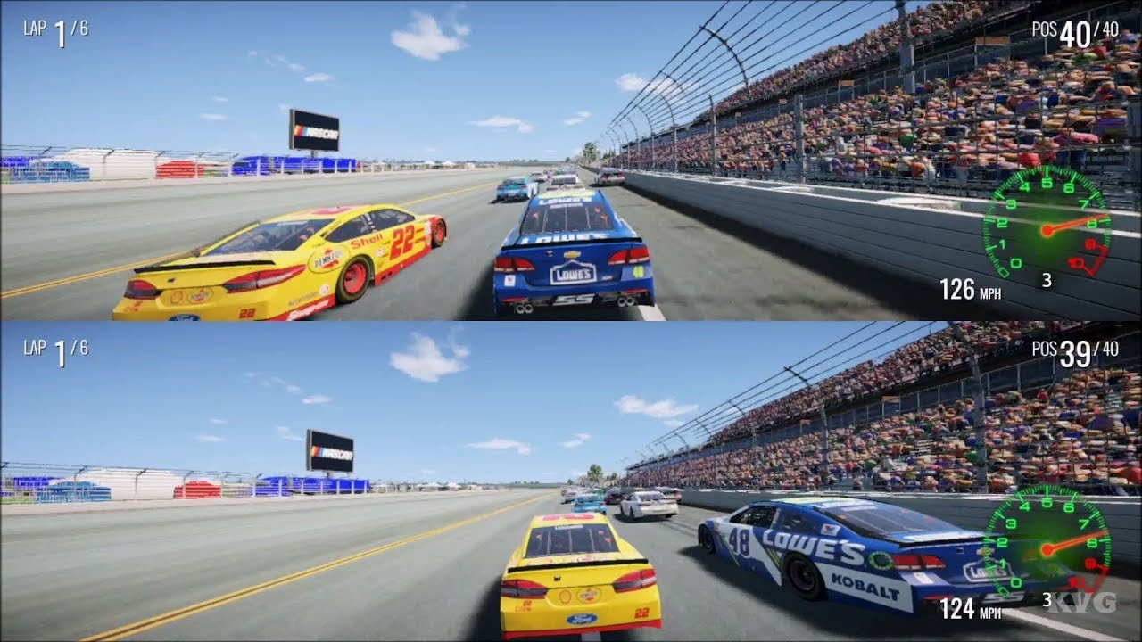 NASCAR Heat 2 Splitscreen Gameplay PS4 HD 1080p60FPS YouTube