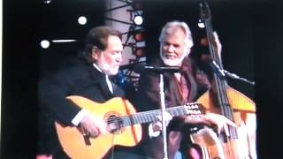BLUE SKIES Willie Nelson & Kenny Rogers ~ Nancy Marie