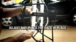 Axiom Journey Suspension Disc Lowrider Front Rack Installation